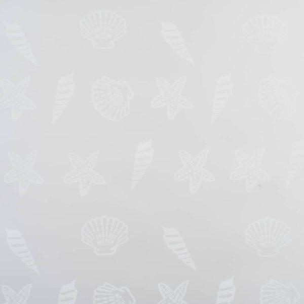 Roletă perdea de duș 160×240 cm Model stea de mare