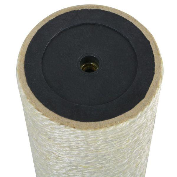 vidaXL Ansamblu de joacă pentru pisici 8×30 cm, 8 mm Bej