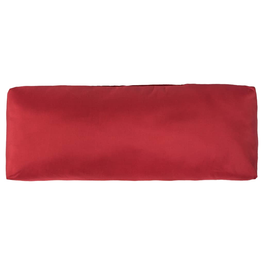 vidaXL Perne pentru palet, 3 buc., roșu, poliester