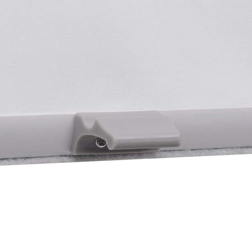 Jaluzea opacă tip rulou, alb, MK04