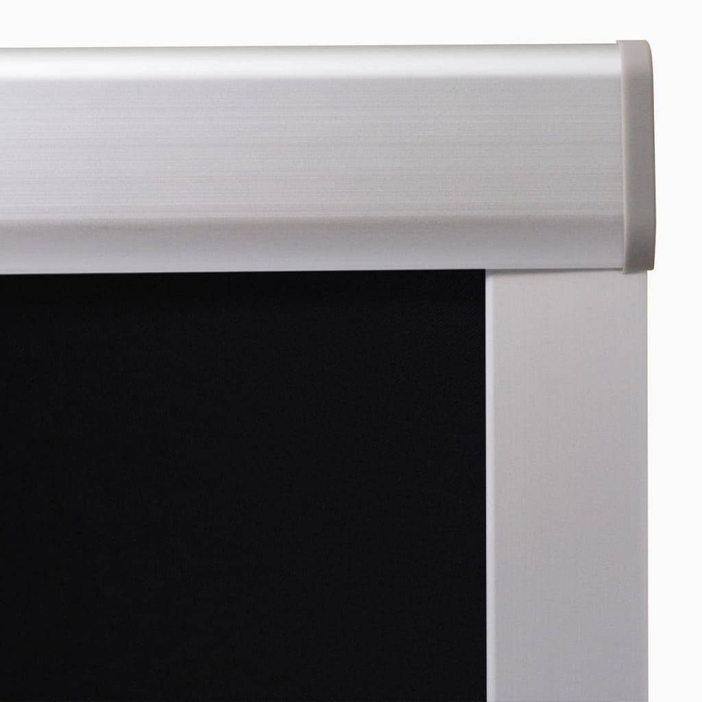 Jaluzea opacă tip rulou, negru, MK04