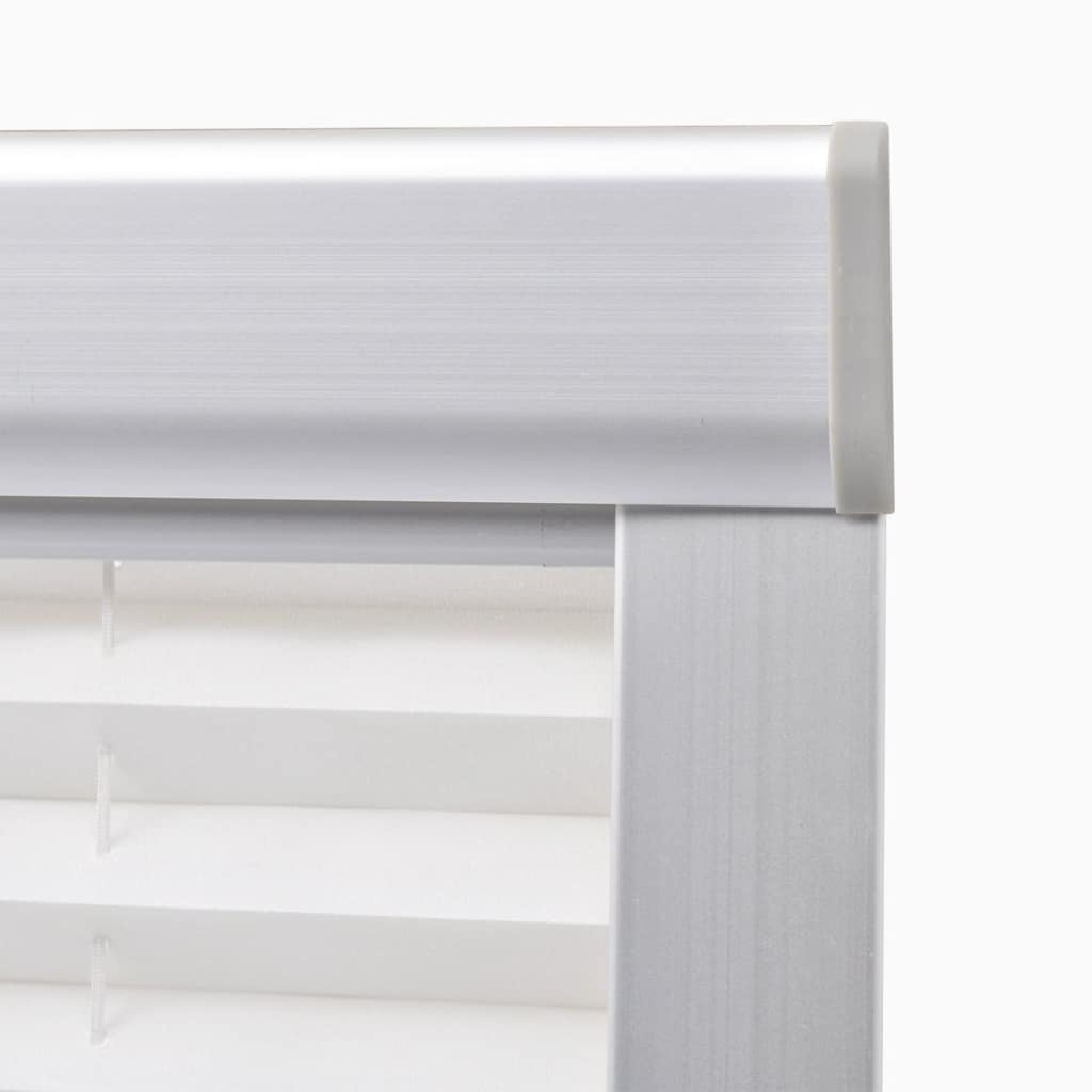 Jaluzea plisată, alb, PK06