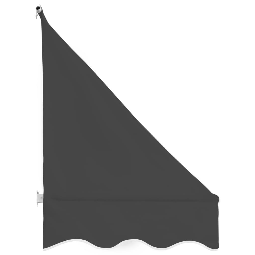 Copertină de bistro, antracit, 250 x 120 cm
