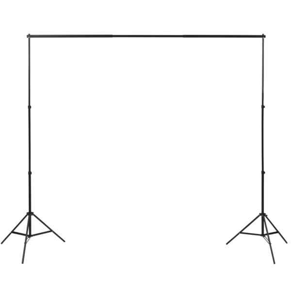 Kit studio foto cu 3 fundaluri și ramă ajustabilă, 3 x 6 m
