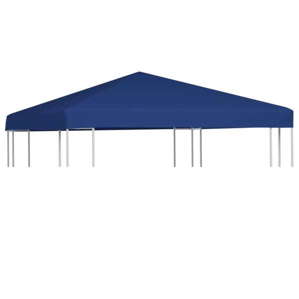 vidaXL Acoperiș de pavilion, 310 g/m², albastru, 3 x 3 m