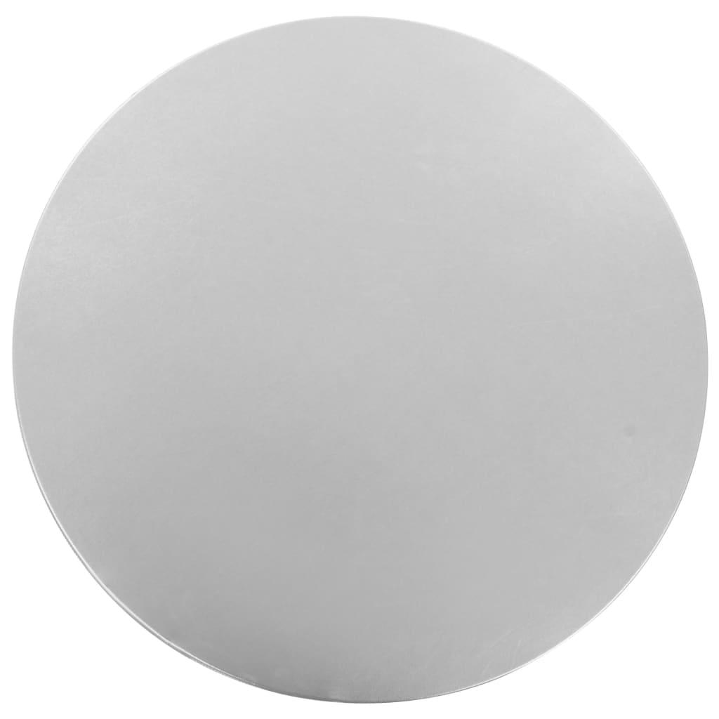 vidaXL Huse elastice de masă, 2 buc., argintiu, 60 cm