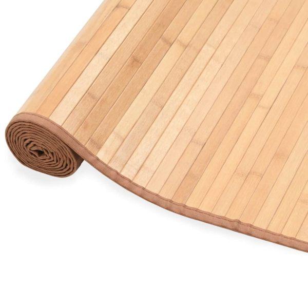 vidaXL Covor din bambus, maro, 120 x 180 cm
