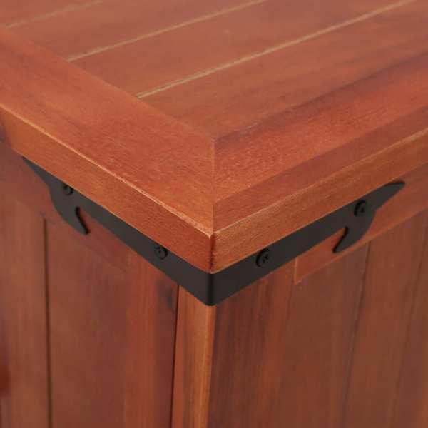 Cufăr de depozitare, 90 x 45 x 40 cm, lemn masiv de salcâm