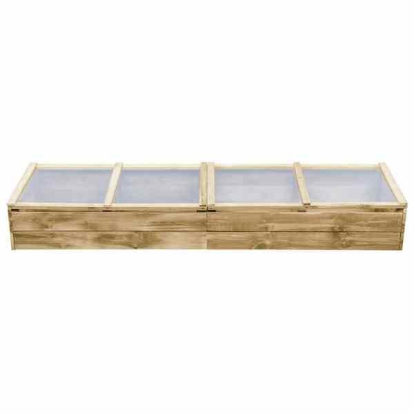 Seră, 200 x 50 x 35 cm, lemn de pin tratat