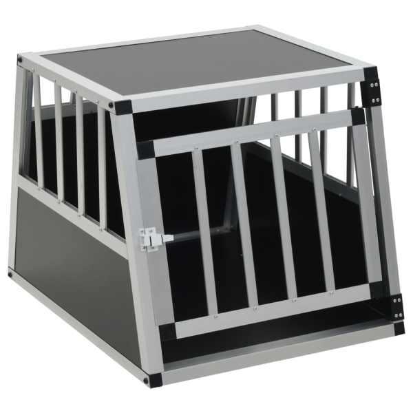 Cușcă de câine cu o ușă, 54 x 69 x 50 cm
