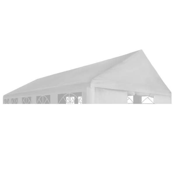 vidaXL Acoperiș cort de petrecere, alb, 3 x 4 m