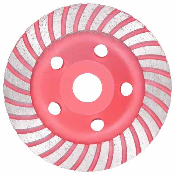 vidaXL Disc de polizare diamantat tip cupă, cu turbo, 125 mm