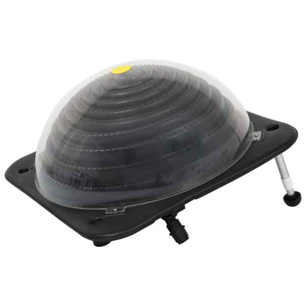 vidaXL Încălzitor solar pentru piscină, 75 x 75 x 36 cm, HDPE aluminiu