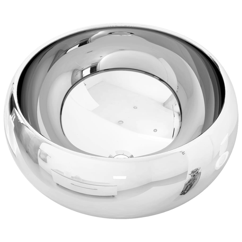 Chiuvetă, argintiu, 40×15 cm, ceramică