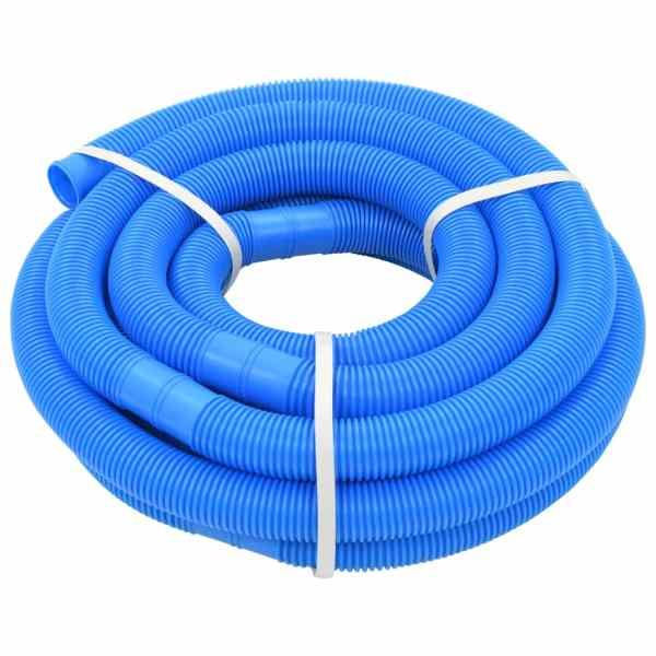 vidaXL Furtun de piscină, albastru, 38 mm, 9 m