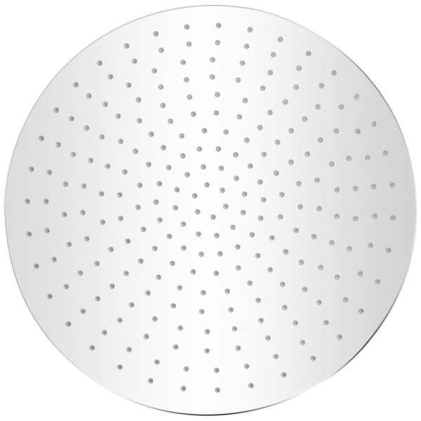 Cap de duș tip ploaie, 2 buc., Ø 40 cm, oțel inoxidabil