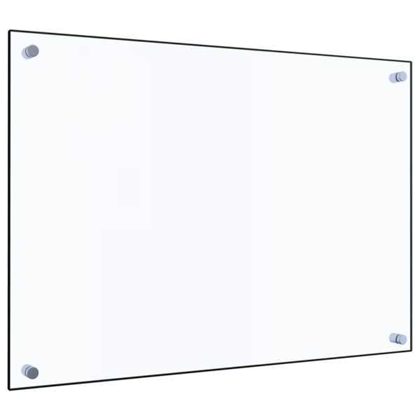 Panou antistropi bucătărie transparent 70x50cm sticlă securiz.
