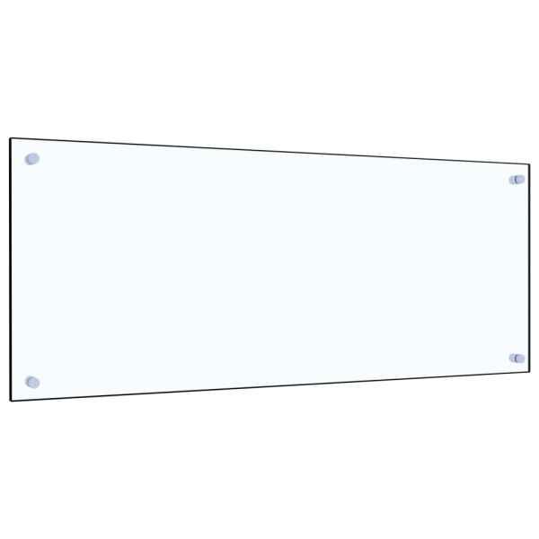 Panou antistropi bucătărie transparent 100x40cm sticlă securiz.