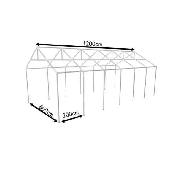 Structură de oţel pentru Cort pentru reuniuni 12 x 6 m