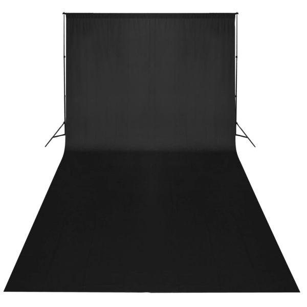 Fundal negru, 300 x 300 cm