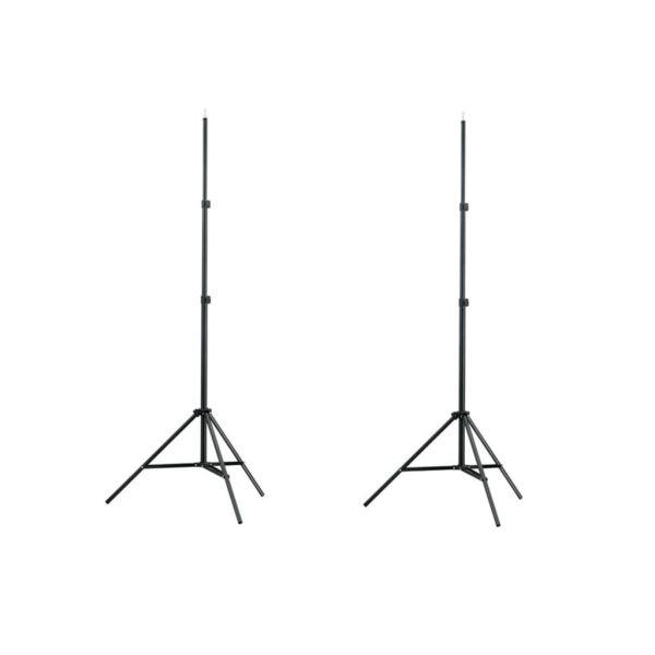 vidaXL Suporturi lumini studio 78-210 cm 2 buc.