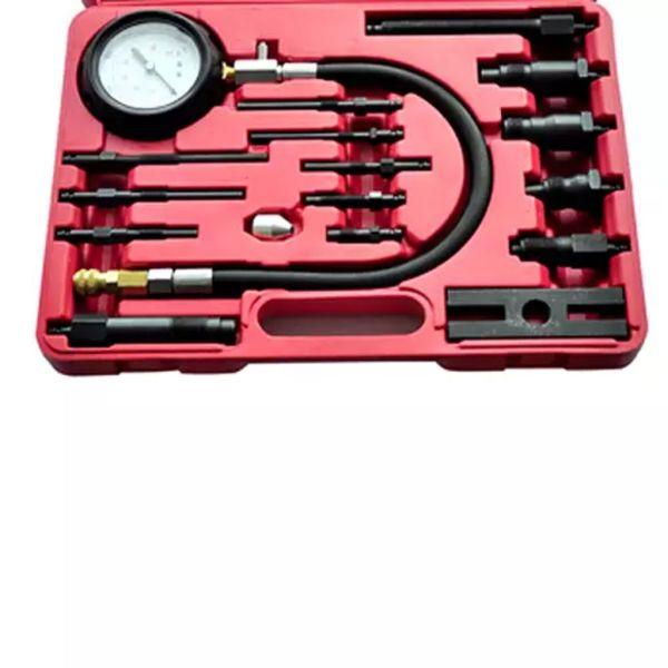 vidaXL Set tester compresie pentru motor Diesel 17 piese