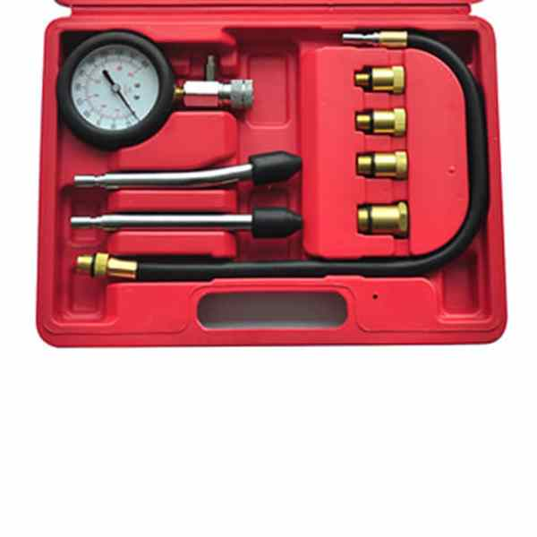 Dispozitiv de verificare a compresiei 9 piese Motor cu combustibil