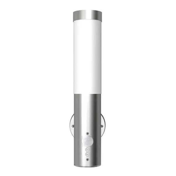 Lampă exterior din oțel inoxidabil cu senzor de mișcare 11 x 35 2 buc