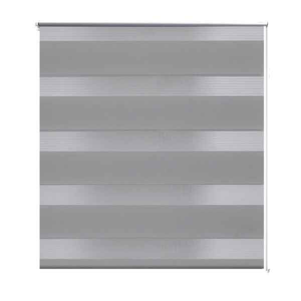 Jaluzea opacă, gri zebra 80 x 150 cm