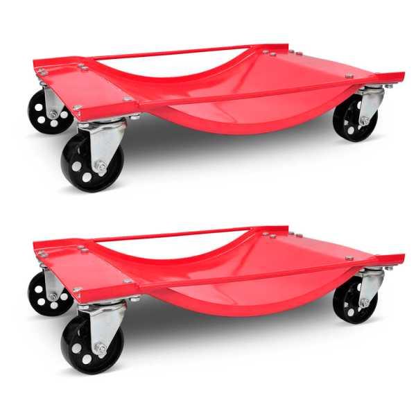 Cărucior pentru transport automobile 2 buc