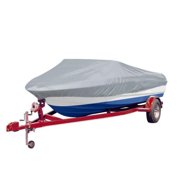 Prelată barcă gri Lungimea 488-564 cm Lățimea 239 cm