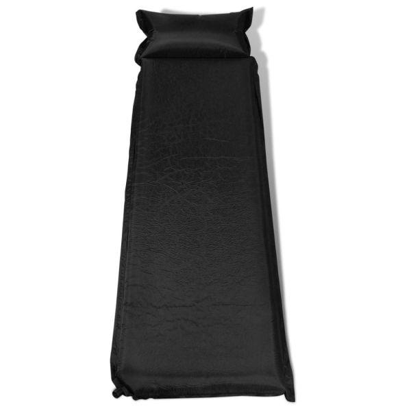 Saltea pneumatică 10 x 66 x 200 cm, Neagră