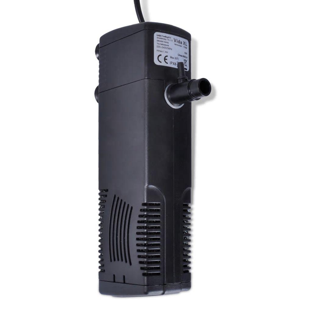 Filtru cu carbon activ pentru acvariu 800 L/h