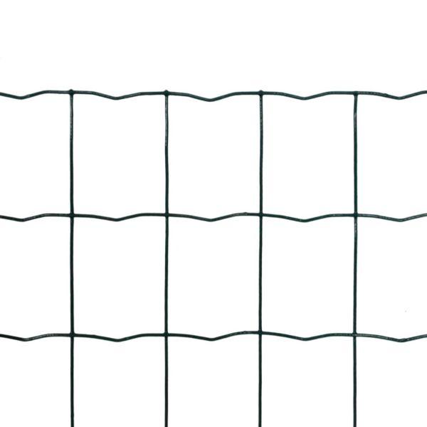 Euro gard, verde, 25 x 1,2 m, oțel