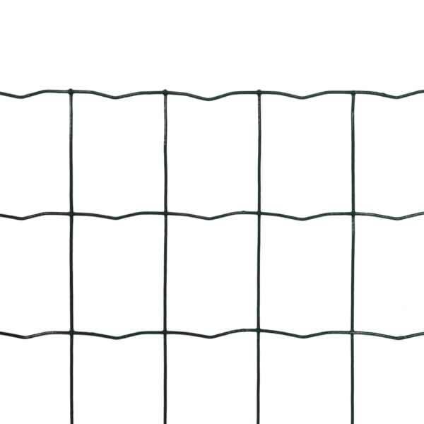 Euro gard, verde, 10 x 1,2 m, oțel
