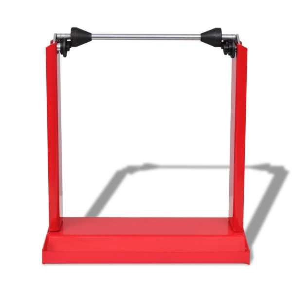 Suport profesional pentru echilibrare roți de motocicletă, roșu