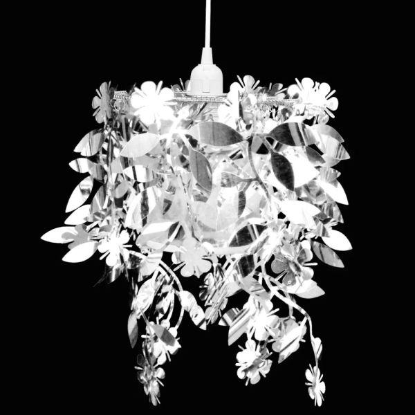 Lampă de tavan cu paiete 21,5 x 30 cm, Argintiu