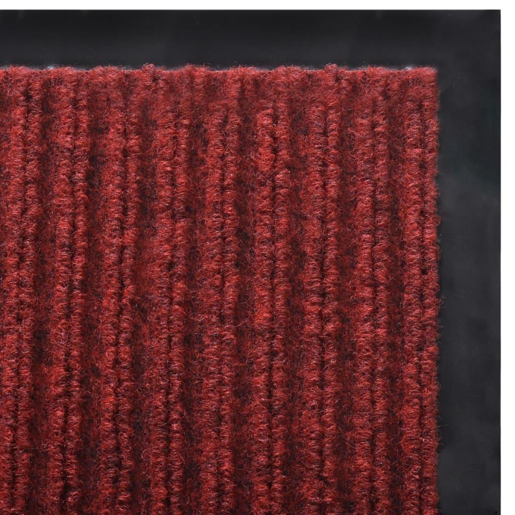 Covoraș Intrare PVC Roșu 90 x 60 cm