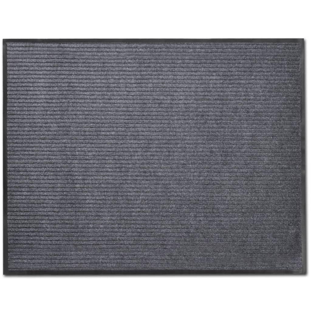 Covoraș Intrare PVC Gri 90 x 60 cm