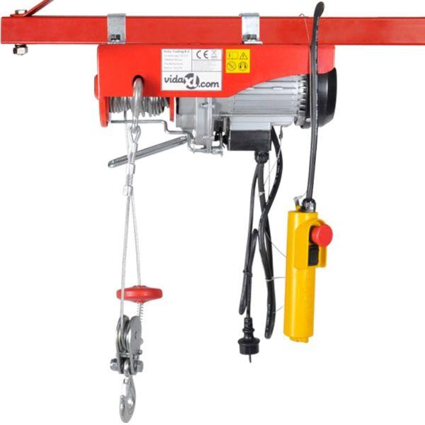 Troliu electric 1300 W 400/800 kg