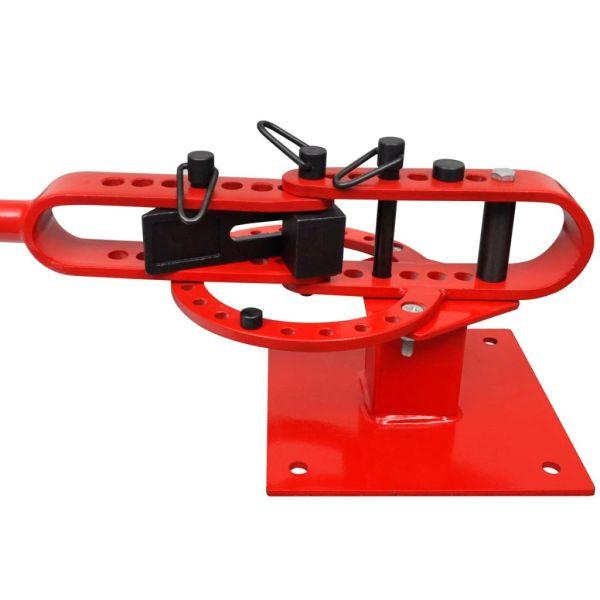 Mașină manuală de îndoit țevi din oțel montare pe banc