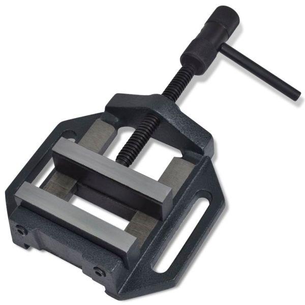 vidaXL Menghină pentru mașină de găurit, acționare manuală, 90 mm