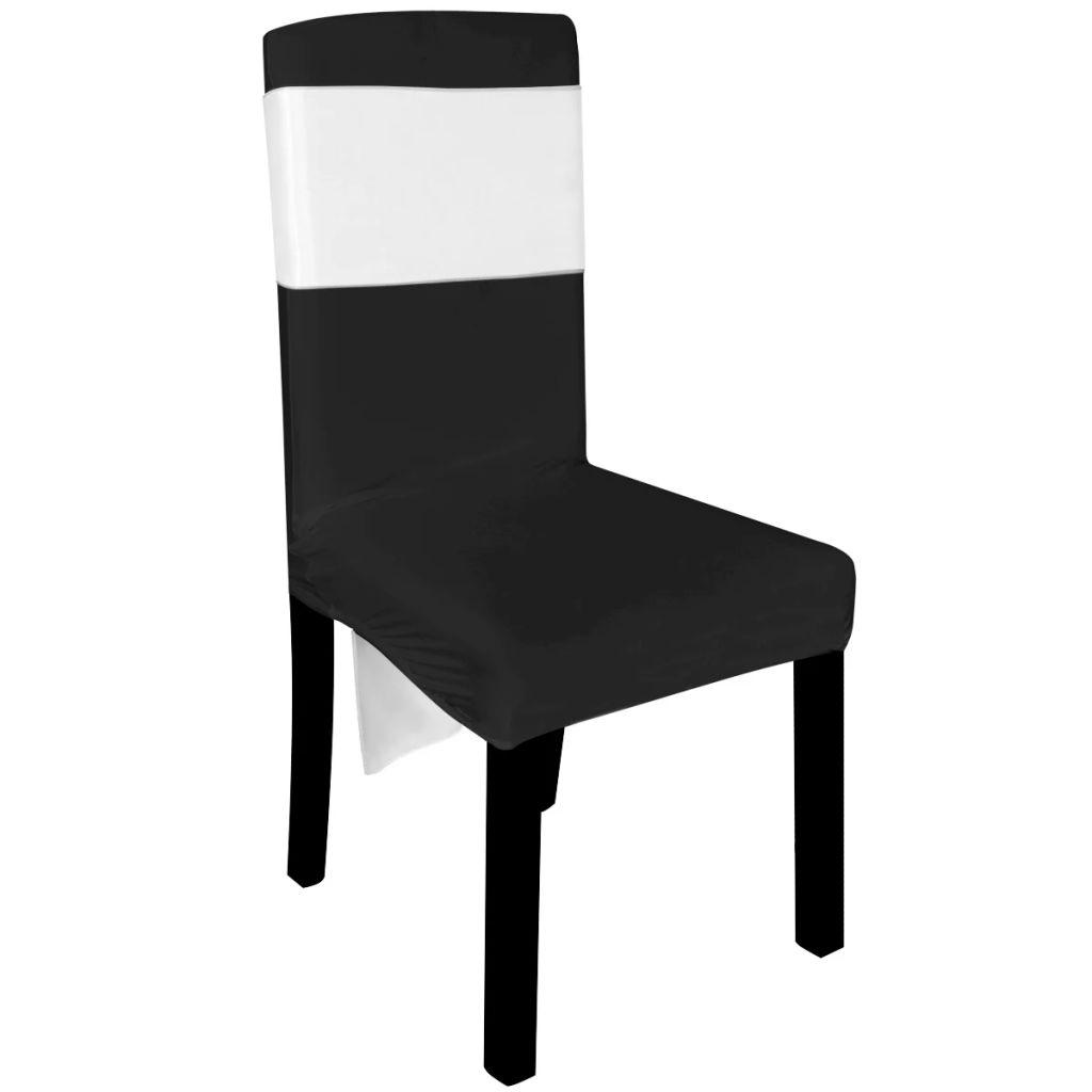 Funde decorative din satin pentru scaune, 25 buc, alb