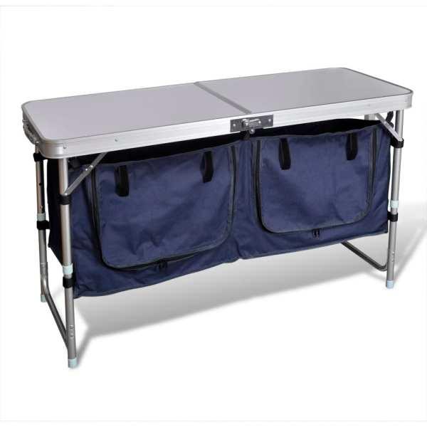 Dulap camping pliabil cu cadrul din aluminiu