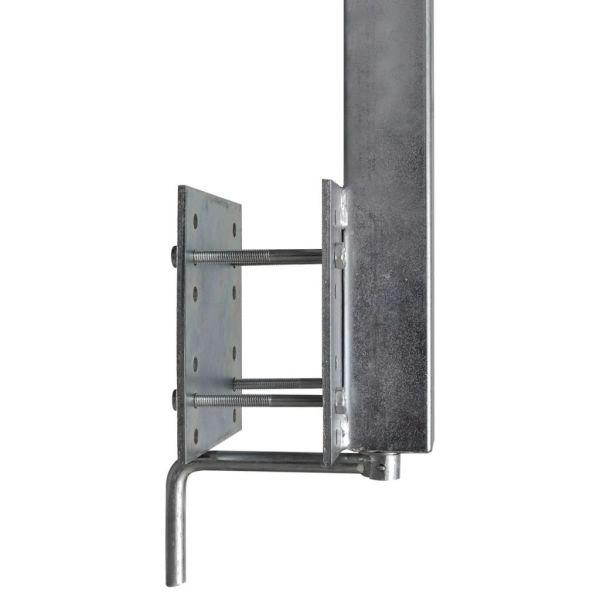 Set 2 suporturi cu roți duble pentru remorcă de barcă 59 – 84 cm