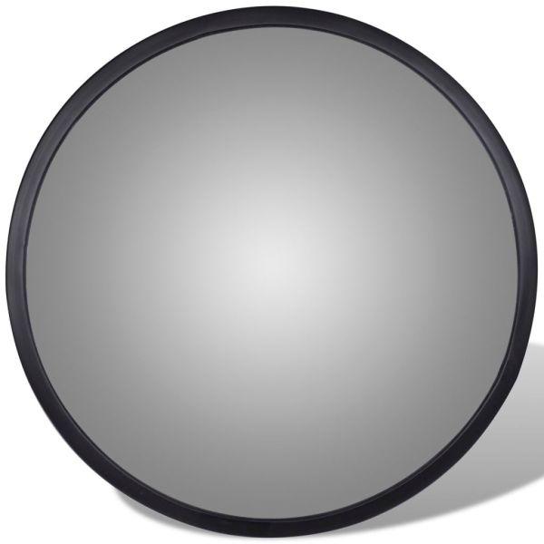 Oglindă rutieră acrilică convexă de interior 30 cm negru