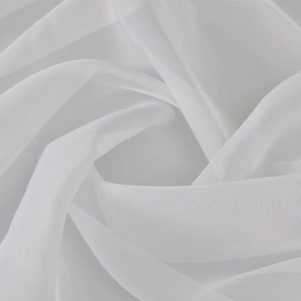 Pânză de voal, 1,45 x 20 m, alb