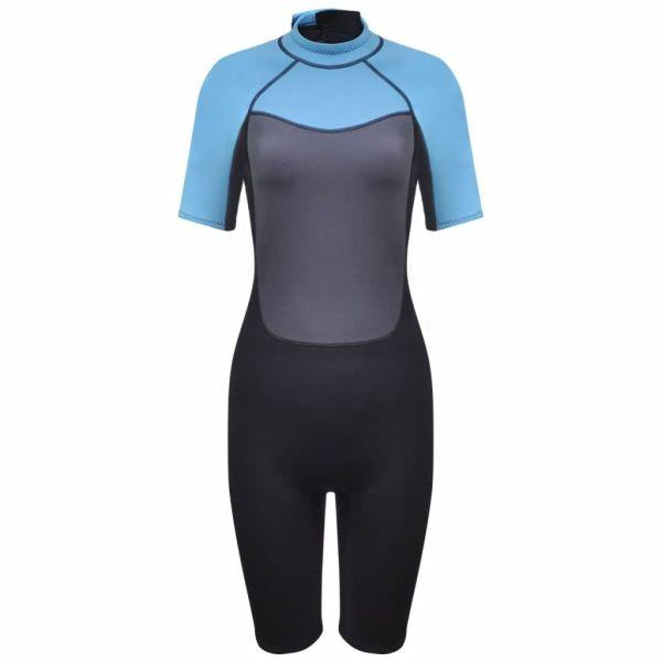 Costum de damă pentru sporturi acvatice, scurt S 155-160 cm 2,5 mm