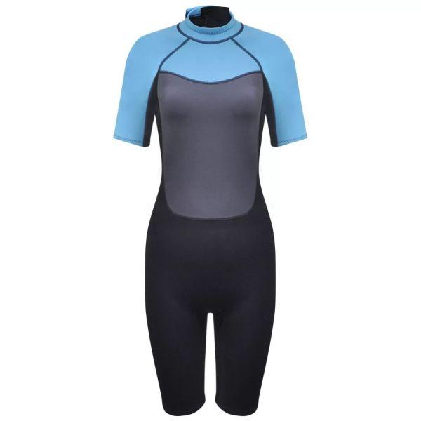 vidaXL Costum scurt sport acvatic femei XL 170 – 175 cm 2,5 mm
