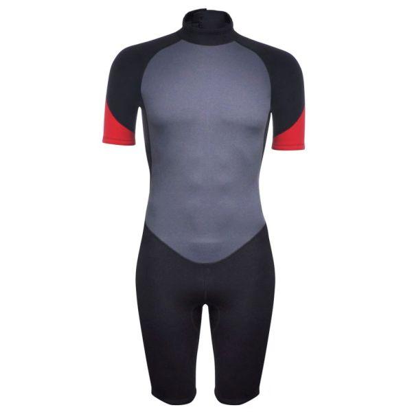 vidaXL Costum bărbătesc scurt sporturi acvatice M 170 – 175 cm 2,5 mm